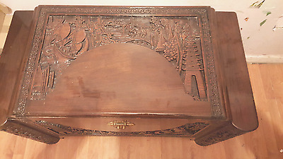 camphor wood chest one off hand made in 1949 in hongkong