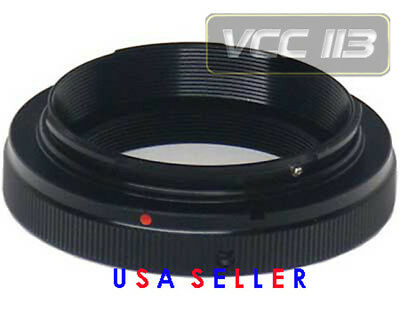 vivitar T2 T MOUNT T ring adapter for Canon Eos 5D 7D T3I T2I T1I 600D 550D 500D