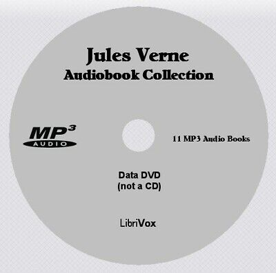JULES VERNE Collection - 8 Audio Books on 1 MP3 Audio DVD