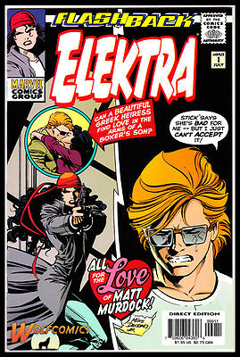 Elektra #-1 Cover A (1996 Series) , 1st Print , Minus Flashback , Marvel , NM