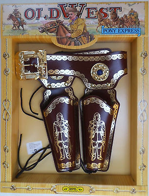 Cowboy 'old West Double Holster Set' (Adult Size) (1220)