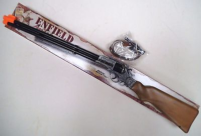 Toy Cap Rifle - Enfield Cap Rifle - 8 Shot Kid's Toy Cap Rifle 1355