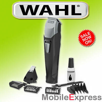 NEW Wahl Lithium-Ion Cordless Beard and Stubble Trimmer