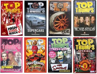 Top Trumps Card Game New Gift Sealed Packs / Special Collectors Edition