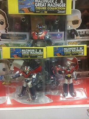 Mazinger Figure Set By Dynamic Planning Extremely Rare