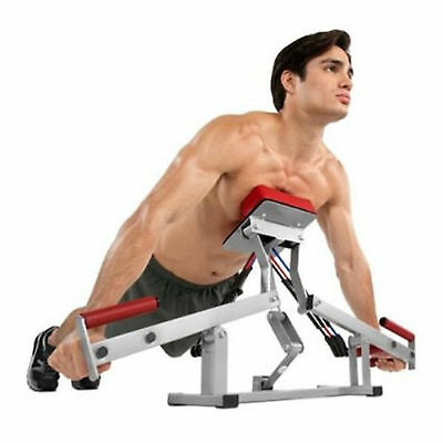 Rocket Fitness Push Up Pump Home Gym Workout Exercise & Fitness Abs Chest 3Level