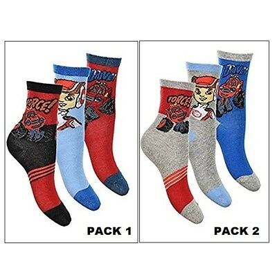 Pack 3 Pares De Calcetines Blaze And The Monster Machines (11391)