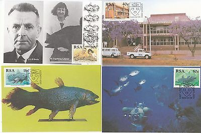 Coelacanth Marine research South Africa 4 maximum cards medicine Fish