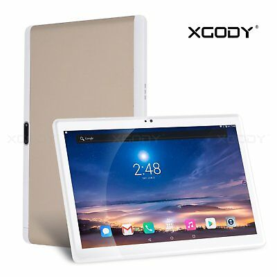 10.1'' Tablet PC Android7.0 4G LTE Octa Core Dual SIM 32GB ROM 2GB RAM IPS XGODY