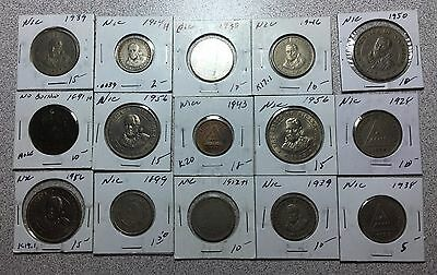 Lot of (15) NICARAGUA Coins  Collector Lot!  SEE PICS   #A103 FREE U.S. SHIPPING