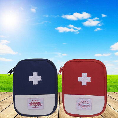 Empty Camping Travel Hiking First Aid Kit Rescue Pouch Survival Emergency Bag