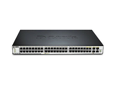 DGS-3120-48TC/SI Managed network switch L2+ switch