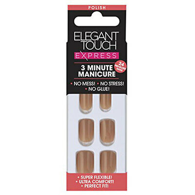 Elegant Touch Exprerss Nail Polished Dirty Nude