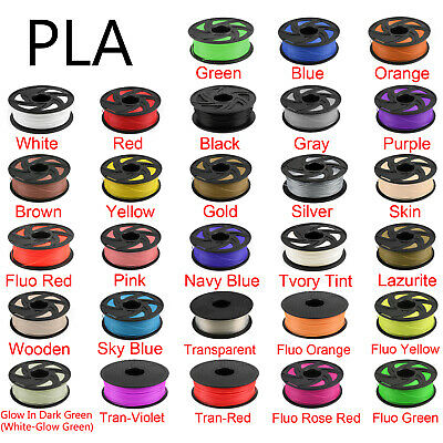 3D Printer Filament ABS PLA PETG TPU 1.75mm 1kg 2.2lb For RepRap MakerBot Print
