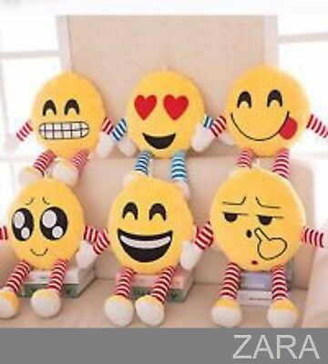 "New Emoji Body Character Arms Legs Emoticon 14"" Plush Soft Cushion Pillows Gifts"