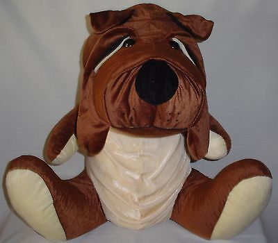 "Bulldog Stuffed Animal Plus 25"" By Toy Factory"