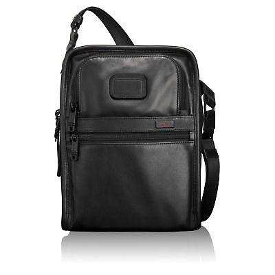 Tumi Alpha 2 Organizer Travel Leather Tote 92116 092116D2 - Black - One Size