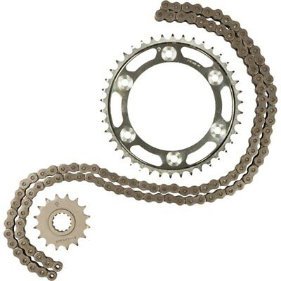Steel Sz 16 Tooth/48 Tooth/116 Links JT Sprockets 530X1R Chain And Sprocket Kit
