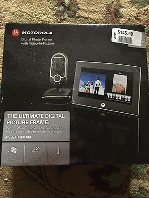 Motorola MFV700 7-inch Digital Frame with Video-In-Picture and Wireless DECT 6.0