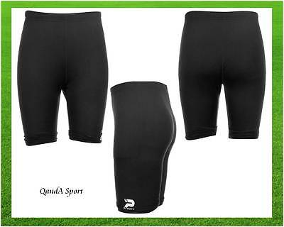 Winter Base Layer Shorts Youth Boys BLACK Patrick Power Rugby Union Short Pants