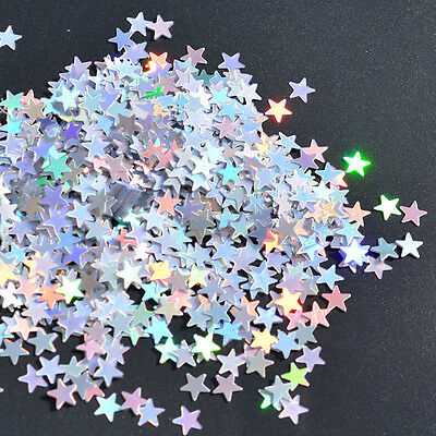 6/10mm 1000/3000Pcs Shiny Star Glitz Confetti Party Wedding Table Decoration