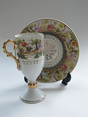 Royal Vienna Beehive Demitasse Cup & Saucer - Newly Reduced
