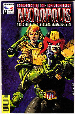 Necropolis The Judge Death Invasion #3 (1991 Series), 1st Print , QC Comics , VF