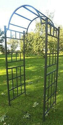 Heavy Duty Metal Garden Arch - Climbing Plant Support Frame Archway