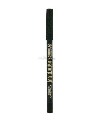 Bourjois Contour Clubbing Waterproof Eyeliner Pencil ~No 55 Black Ultra Glitter