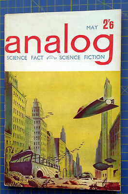 Analog Science Fiction and Fact. May 1962