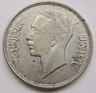 1938 Iraq 50 Fils Coin;  High Grade. See Details & PIctures. Ships to U.S. only.