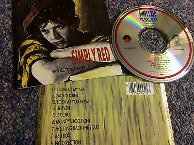 Simply Red Cd Album Picture Book Elektra Issue From Collection