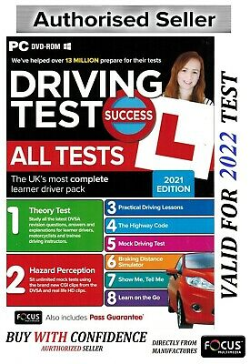 DRIVING INSTRUCTOR THEORY TEST TRAINING HAZARD PERCEPTION PC DVD ROM 2019 atpc