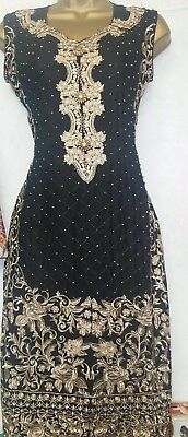 ***STITCHED Ladies Suit Pakistani/Indian Salwar Kameez HEAVY EMBROIDERY***