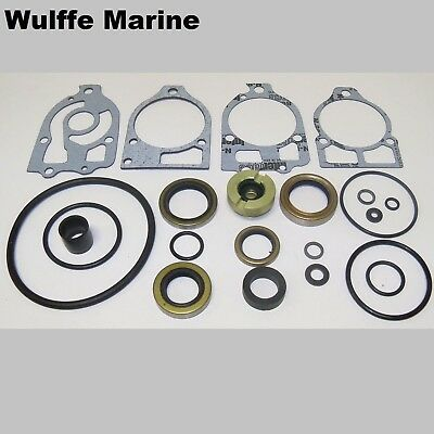 Lower Unit Gearcase Seal Kit for Mercruiser #1 R MR Alpha One 26-33144A2 18-2652