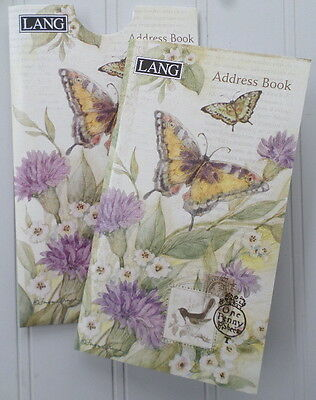 Lang Address Book w/Sleeve Pocket Retired ~ Morning Has Broken ~ Susan Winget
