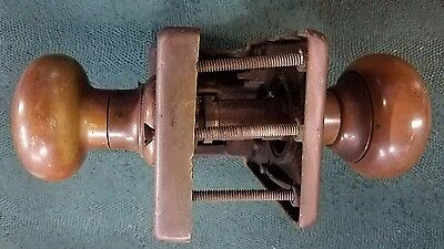Antique Russwin Patent Solid Brass Bronze Unit Lock pre Corbin Merger ? - No Key