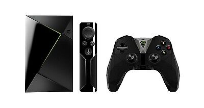 NEW NVIDIA SHIELD TV PRO 500GB (2017) Android Gaming TV Console Box Media Server