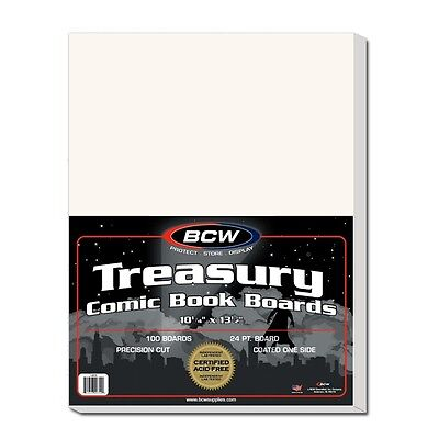Treasury Comic Backing Boards x 100 per pack