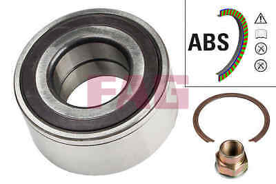 FIAT PUNTO 188 1.2 Wheel Bearing Kit Front 99 to 12 With ABS QH 46527732 Quality
