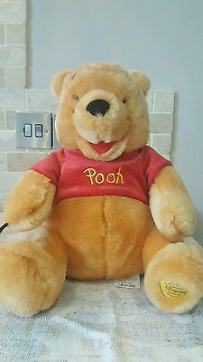 DISNEY STORE WINNIE THE POOH plush soft toy teddy 17 inches full length