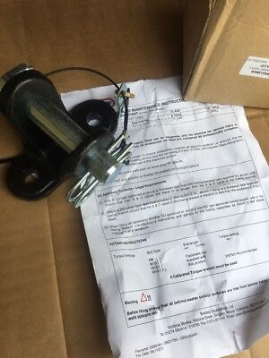 Land Rover Defender Series Dixon Bate Tow Jaw Hitch Heavy Duty 3.5 Ton Dual Pins