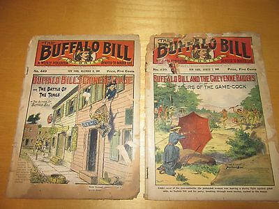 Vintage 1900's Magazine's & Song Books (Buffalo Bill Weekly)