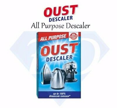 OUST All Purpose Descaler For Coffee / Kettle / Iron Limescale Remover & Cleaner