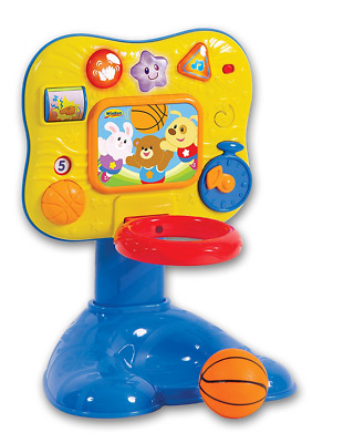 Winfat Baby Basketball Play Center, Yellow