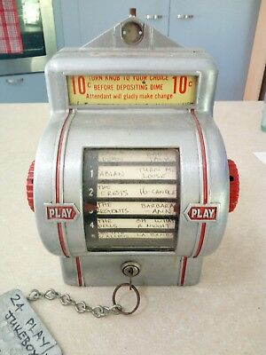 wurlitzer jukebox wall box very nice condition
