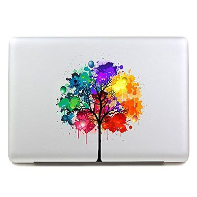 "MacBook 13""/15"" Colourful Apple Tree Decal Sticker (compatible with all versions"