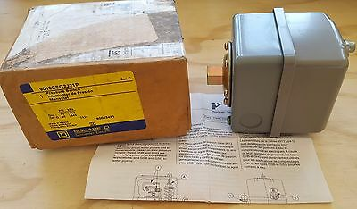 Square D Water Pump Pressure Switch 9013GSG2J21P - 30PSI On 50PSI Off - NOS