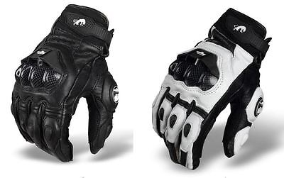 Furygan AFS 6 Motocross Gloves Full Finger Leather Protective Gear Xtreme Sport