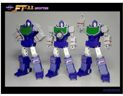 New FansToys Transformors FT-11 G1 Masterpiece MP Spotter Reflector in Stock